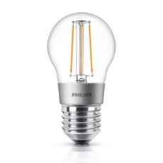 Philips Classic LEDluster 5-40W E27 827 P45 claire DIM, Réf. 74938