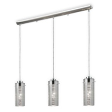 ESTO pendant light JARON cylindrical, 3-flames