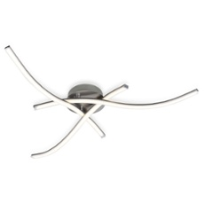 ESTO ceiling light SLIM 3-flames