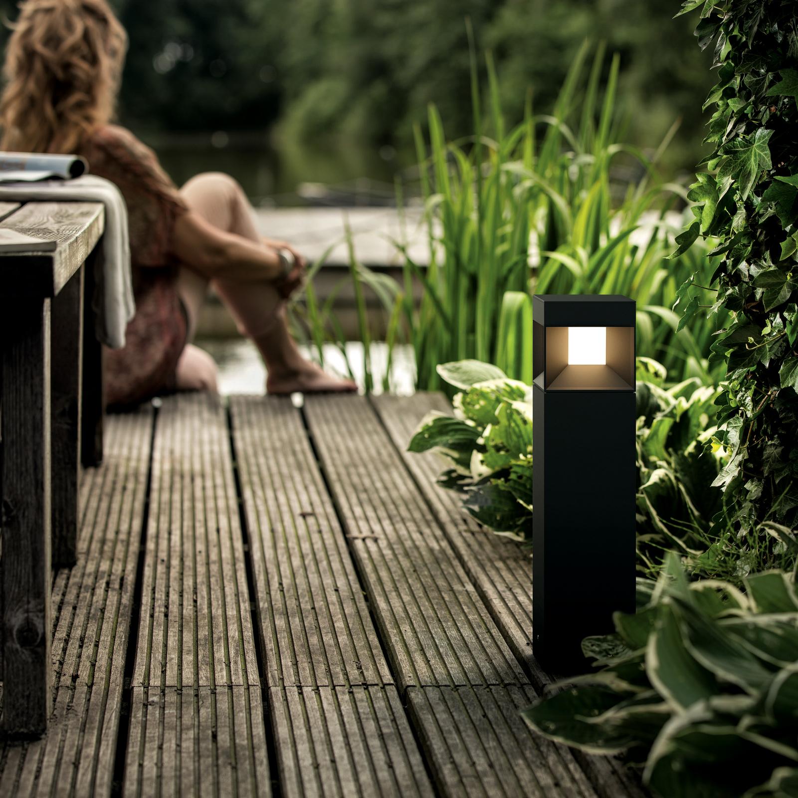 Signify GmbH Philips myGarden LED-Sockelleuchte Parterre, schwarz 1648130P0