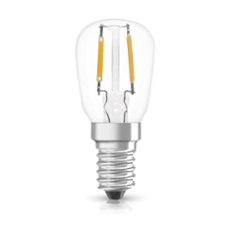 Osram LED STAR  SPECIAL T26 10 clear non-dim  1,3W 827 E14, Item no. 75184
