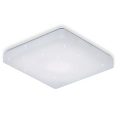 ESTO ceiling light STARLIGHT square 37cm