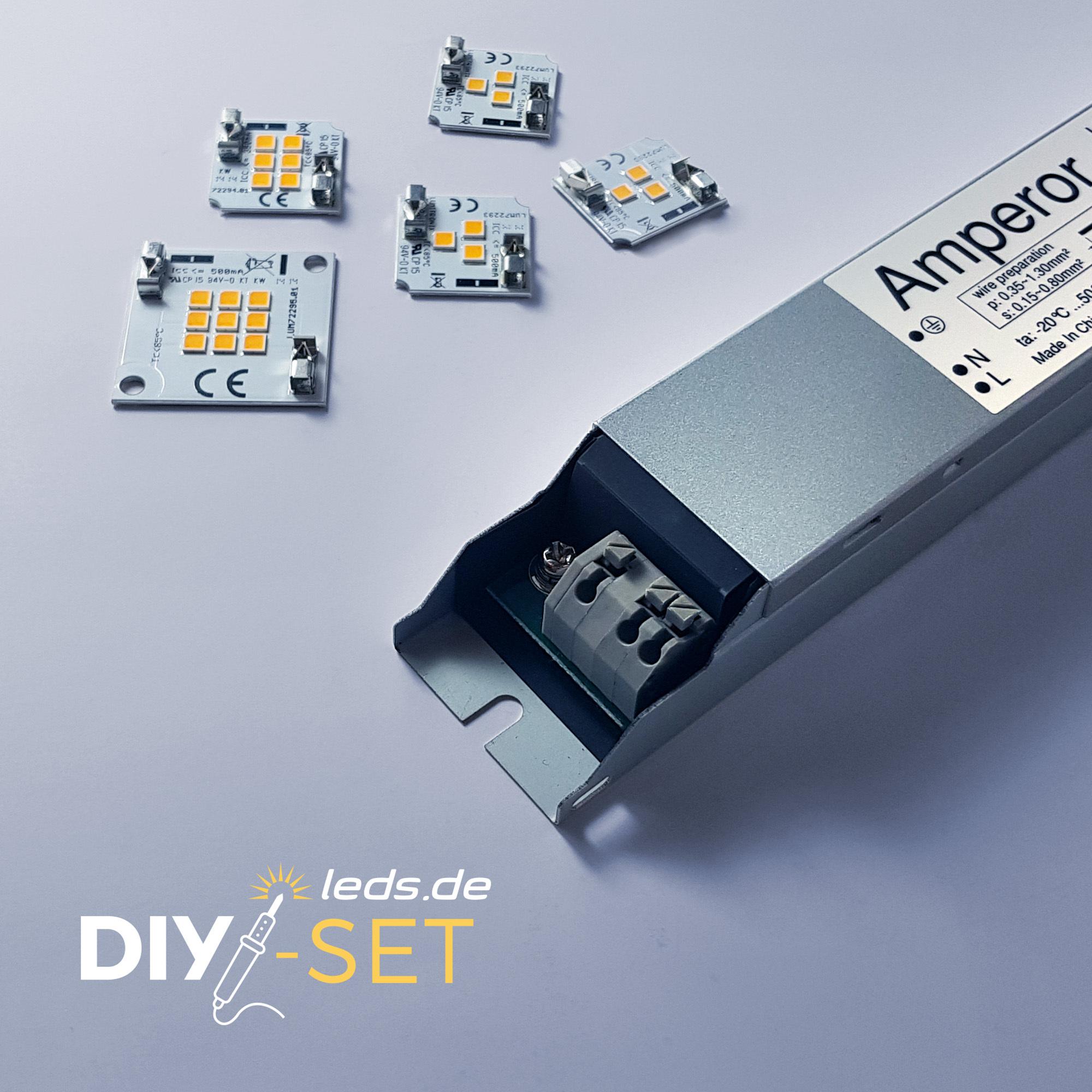 LUMITRONIX SmartArray Q9/Q6/Q3 Bastler-Set DIY-Kit warmweiß 36870