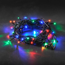 LED System 24 V - multi-coloured chain of lights, 50 LEDs