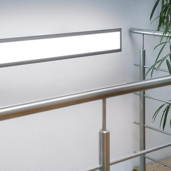 panneau led ultra mince 180 led 120 x 15cm 36w blanche. Black Bedroom Furniture Sets. Home Design Ideas