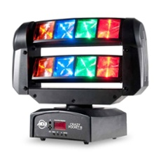 ADJ Crazy Pocket 8 LED Moving Head, ArtNr. 30900