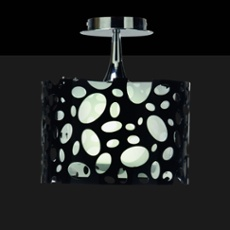 Mantra ceiling lights MOON WHITE AND BLACK 1L, Item no. 43858