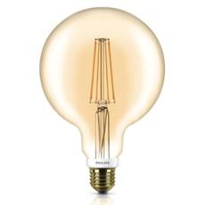 Philips Classic LEDglobe 7-50W E27 820 G120 gold FIL DIM, Item no. 74924