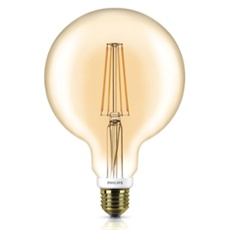Philips Classic LEDglobe 7-50W E27 820 G120 gold FIL DIM, ArtNr. 74924