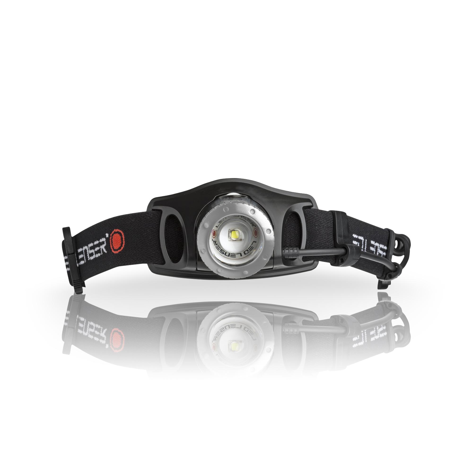 Ledlenser H7.2 LED-Stirnlampe, Dimmfunktion, fokussierbar, schwarz 7297