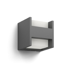 Philips myGarden wall light Arbour 2x4,5W