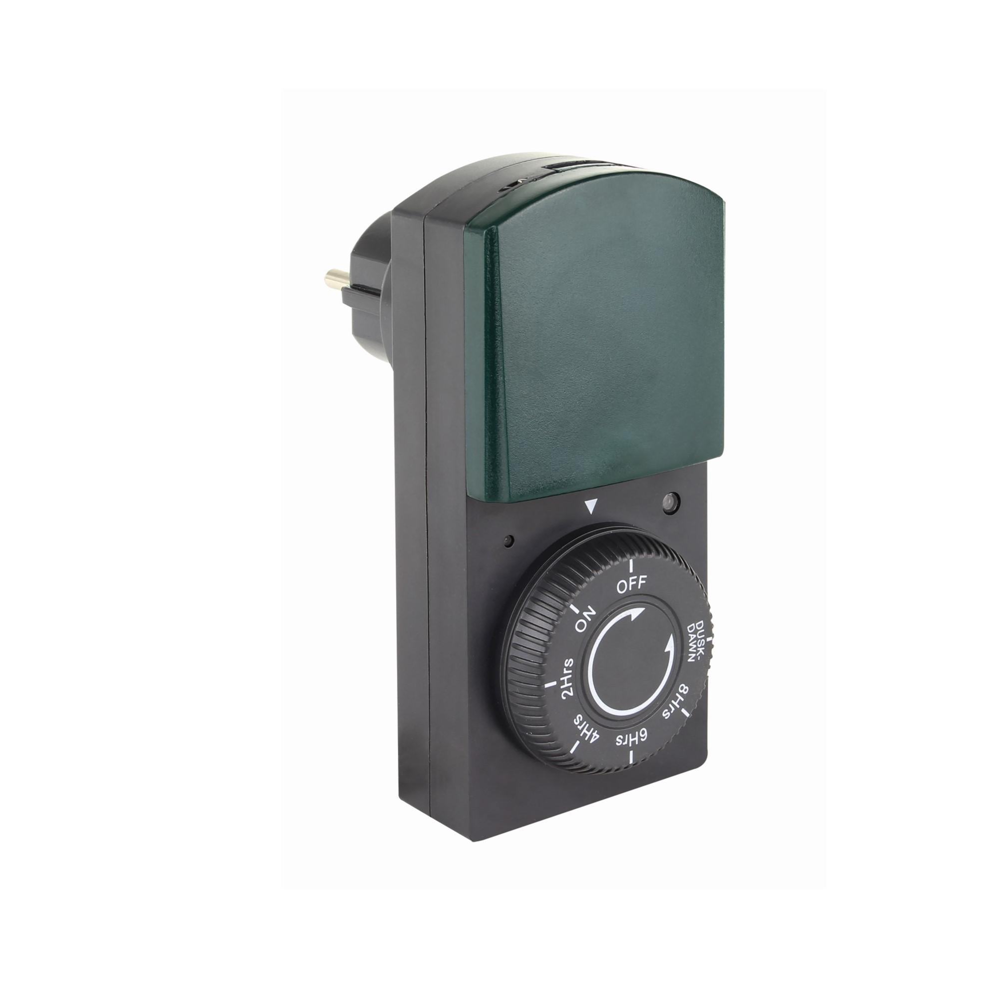 REV Outdoor-Zeitschaltuhr mit Dämmerungs- und Countdown-Funktion 0025720502