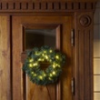 LED spruce wreath, green, 40 warmwhite LEDs, Item no. 97028