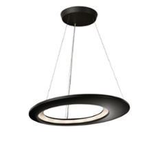 Lirio pendant light Ecliptic, 16 spotlights anthracite
