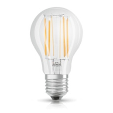 Osram LED STAR FILAMENT clear CLA 75 8W 840 E27 non dim, Item no. 75071