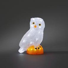 LED Eule, 32 weiße LEDs