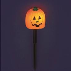 LED Kürbis Halloween Gartenspieß