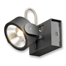 SLV KALU LED 1 wall and ceiling light black