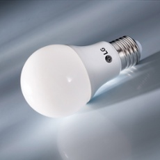 LG LED Lamp E27 9W, warmwhite, Item no. 71412