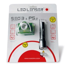 LED LENSER® SEO3 Head Lamp + P5.2 Flashlight