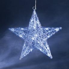 LED figure (star) white light - 24 LEDs