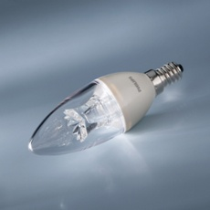 Philips MASTER LEDcandle clear 6-40W 827 E14 B38 DIMTONE, Item no. 70463