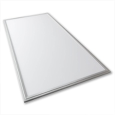 Lumego SIRIUS LED Panel silver 120 x 60cm warmwhite