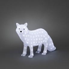 LED Renard arctique, 120 LEDs blanc froid