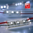 Modules LED rouge, 3 LED SMD, 49mm 12V, Réf. 57601