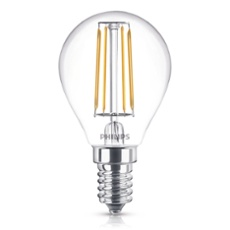 Philips Classic LEDluster 4-40W E14 827 P45 clear, Item no. 74933