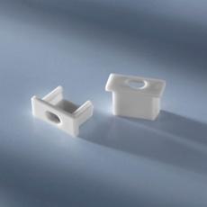 Open end cap for aluminium profiles