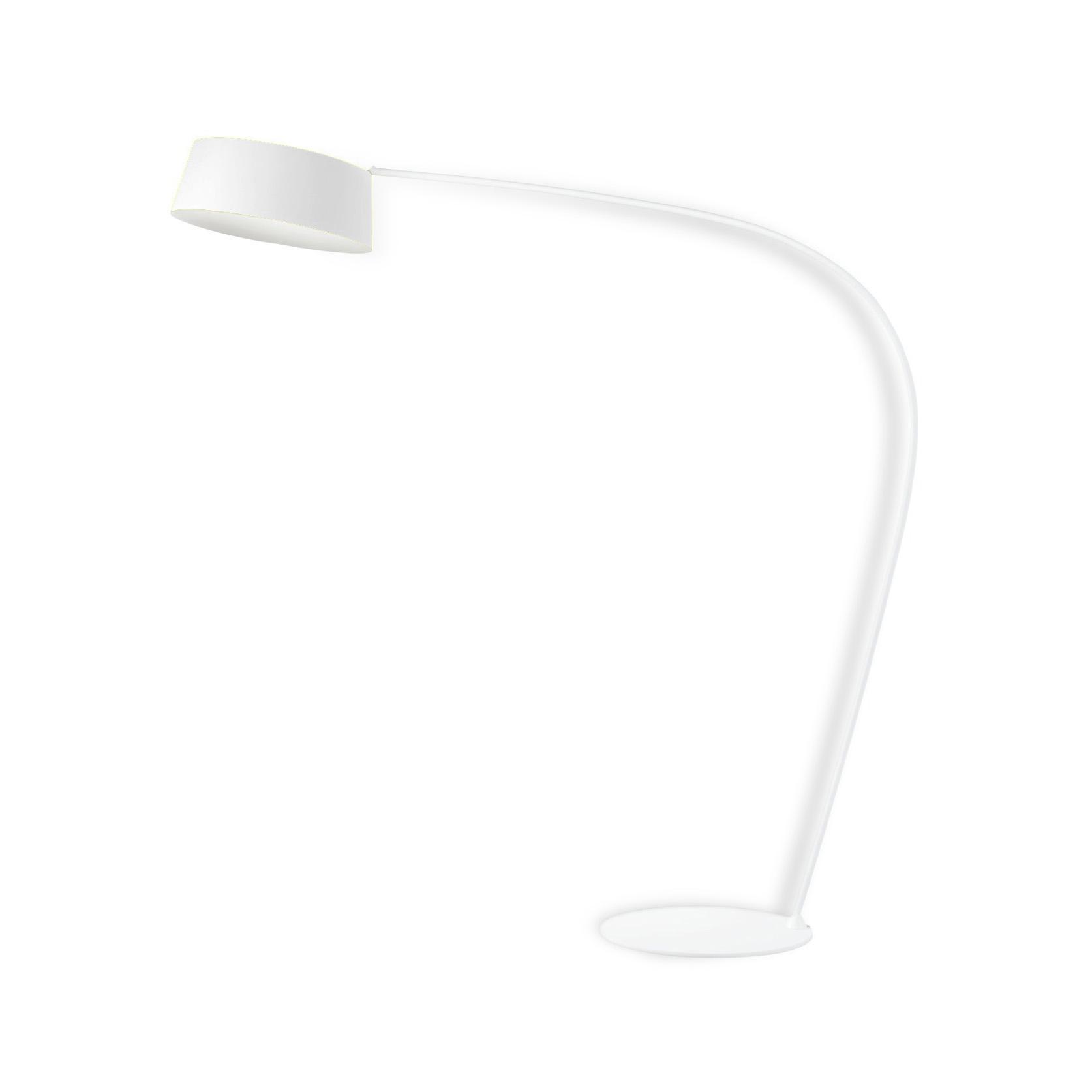 Linea Light S.r.l. Linea LED-Standleuchte Oxygen FL1 weiß 8101