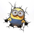 3D Wall light Minions Bob, Item no. 43129