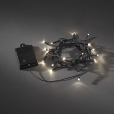 LED Chain of Lights with Timer, warmwhite 24.4m (240 LEDs)