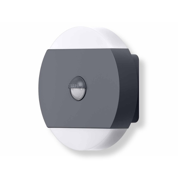 noxlite led wall round sensor 2x6w s45383 osram preisvergleich g nstig kaufen bei. Black Bedroom Furniture Sets. Home Design Ideas