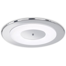 Honsel ceiling light Piano, round