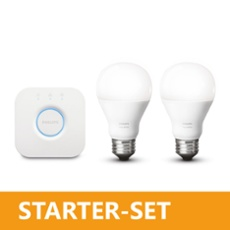 Philips Hue LED E27 Duo Starter Set warmweiß 8,5W, ArtNr. 75009