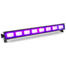 BeamZ BUV93 LED bar 8 x 3W UV, ArtNr. 30410