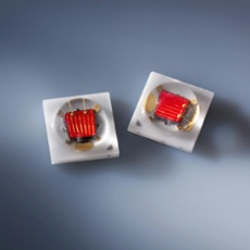 Nichia NCSR219B-V1 75lm, red, with PCB (10x10mm) with PCB (10x10mm)