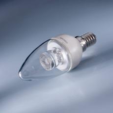 Osram LED Kerze E14 4W, warmwei�