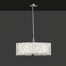 Mantra pendant light MOON WHITE 4L ROUND BIG, Item no. 43862