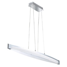WOFI pendant light VANNES 127cm 3-step touch dimmer