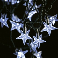 LED fairy light star-shape - 40 LEDs