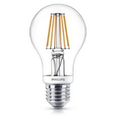 Philips Classic LEDbulb 7.5-60W E27 827 A60 clear FIL DIMTONE