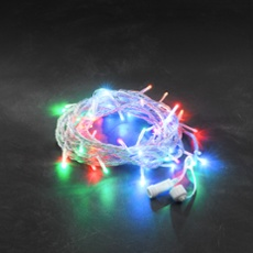 LED System 24V - Multi-Coloured Chain of Light 5m (50 LEDs)