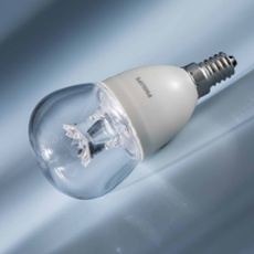 Philips MASTER LEDlustre clear 8-60W 827 E14 P50 DIMTONE, Item no. 74909