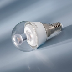 AEG LED Lamp E14 4.5W, warmwhite, frosted frosted