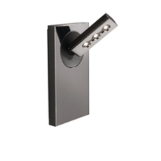 Lirio wall lamp Ponato, 1 spotlight