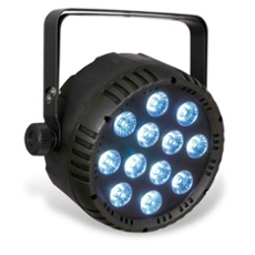 Showtec Club LED PAR 12/6 RGBWAUV, ArtNr. 30824