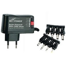 Power supply 1500mA, 3-12V (700mA)